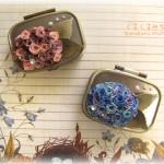 紫陽花小物ケース